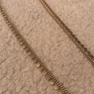 Gold Jcrew Necklace!